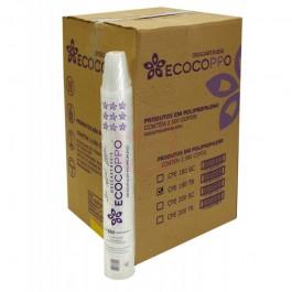 Copo Ecocoppo Transaprente  250ML, Caixa c/ 2.000 unidades.