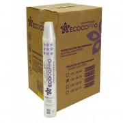Copo Ecocoppo Transparente 200ML, Caixa c/ 2.500 unidades.