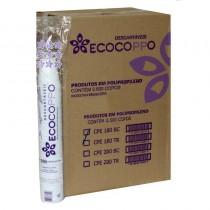 Copo Ecocoppo Branco, 180ML Caixa c/ 2.500 unidades.
